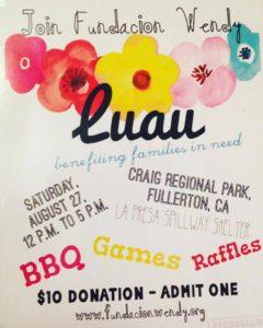 Luau BBQ Fundraiser - Fundacion Wendy